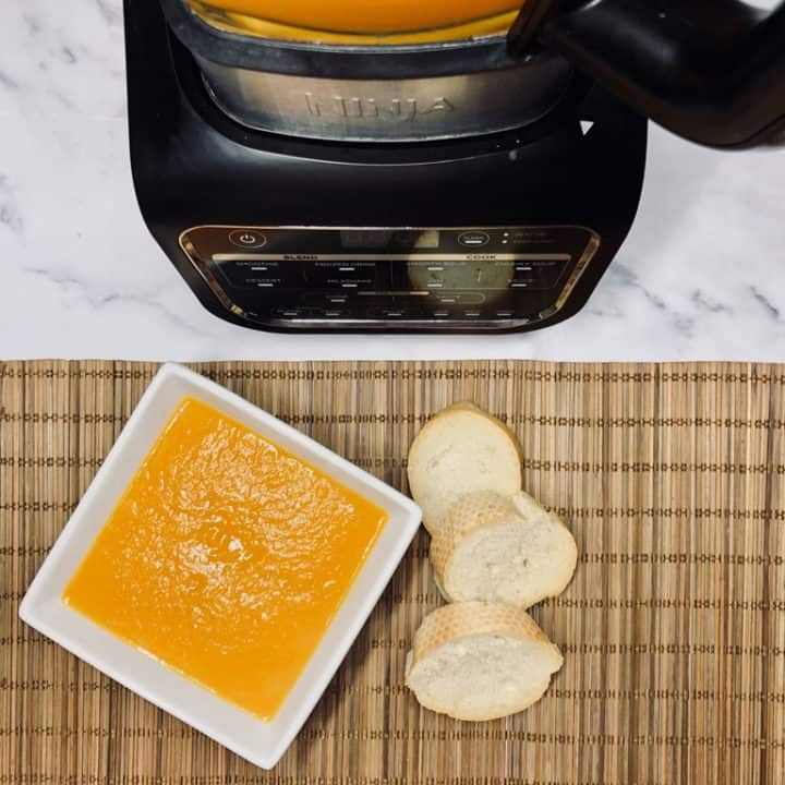 Carrot & Ginger Soup
