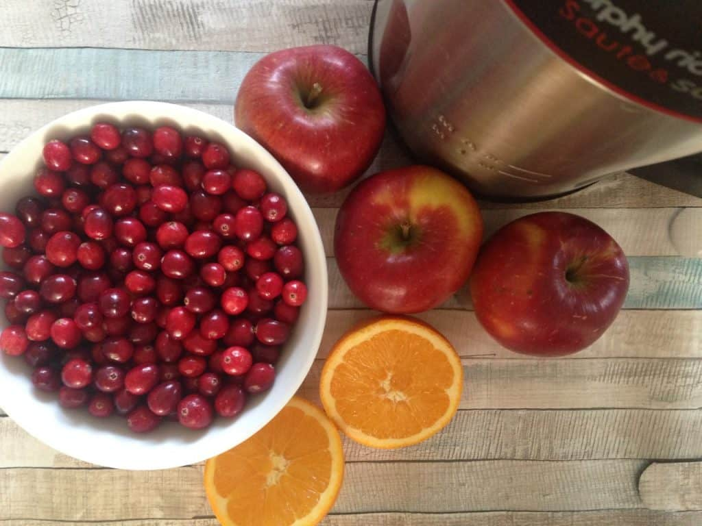 Cranberry and Apple Soup