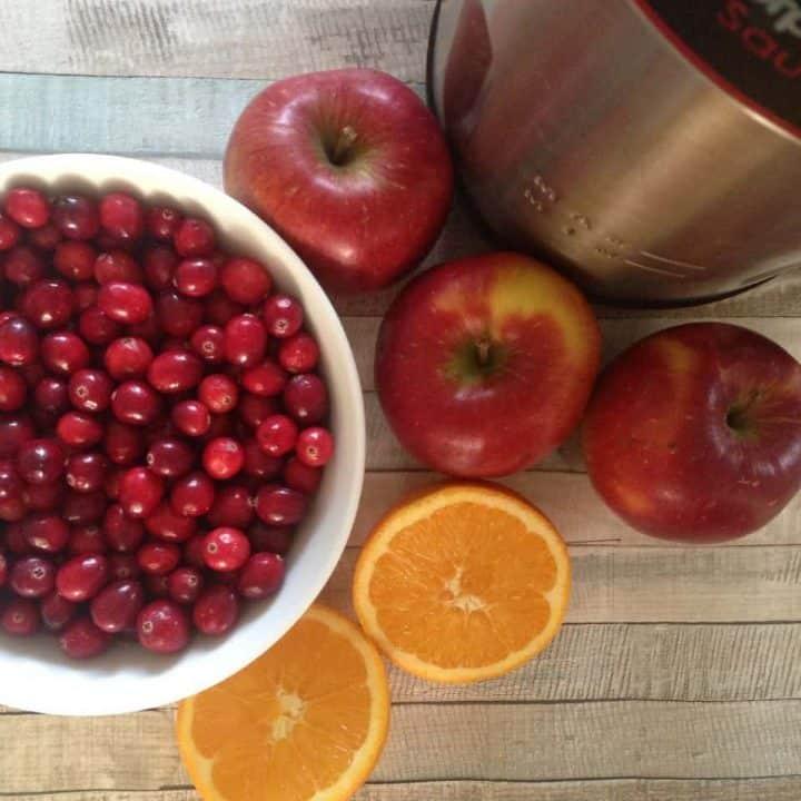 Cranberry & Apple Soup (In A Soup Maker)