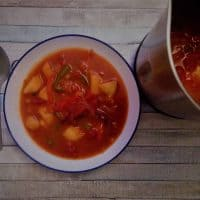 Spanish Potato Soup (In A Soup Maker)