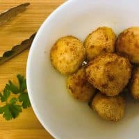 Air Fryer Chicken Kiev Balls