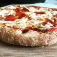 2 Ingredient Air Fryer Pizza