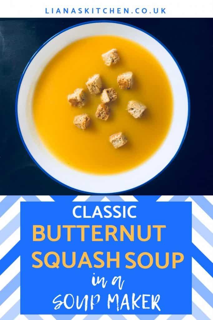 Classic Butternut Squash in a Soup Maker
