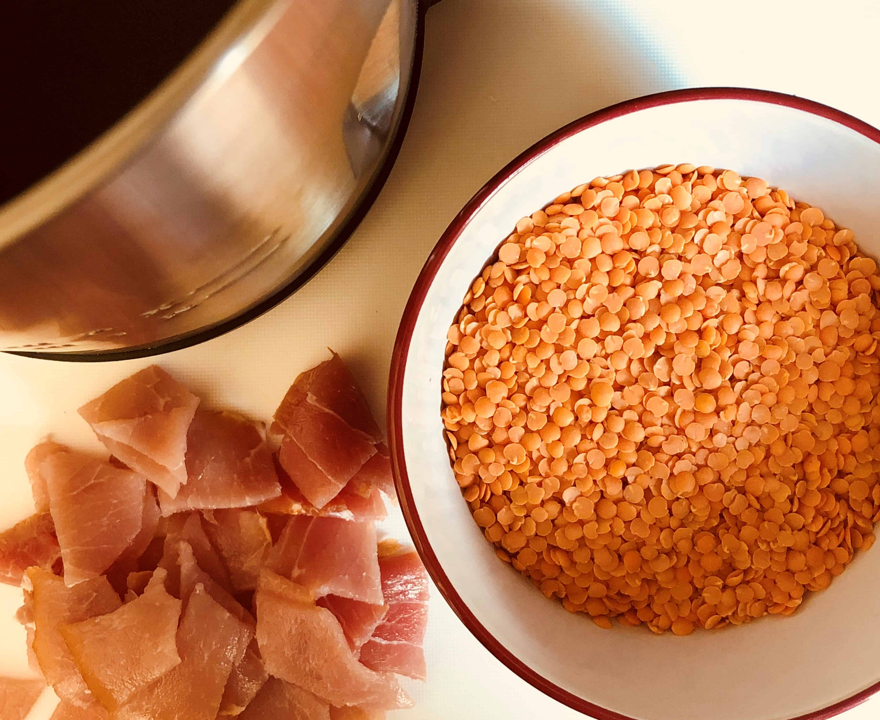 Bacon And Lentil Soup In A Soup Maker Lianas Kitchen