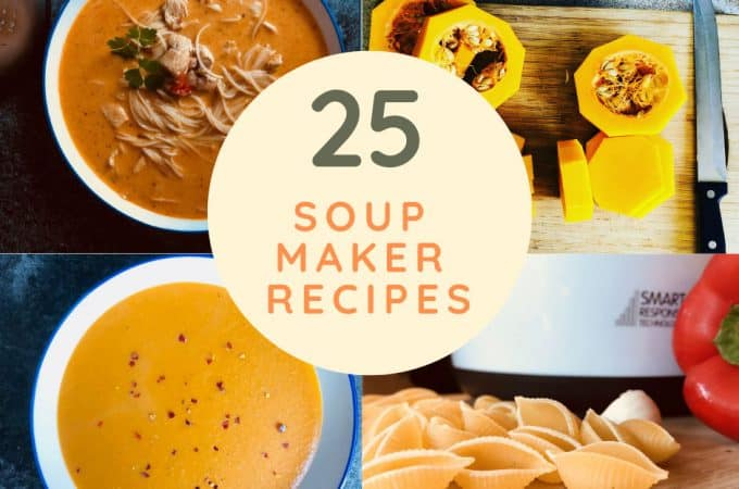 soup maker recipes for morphy richards