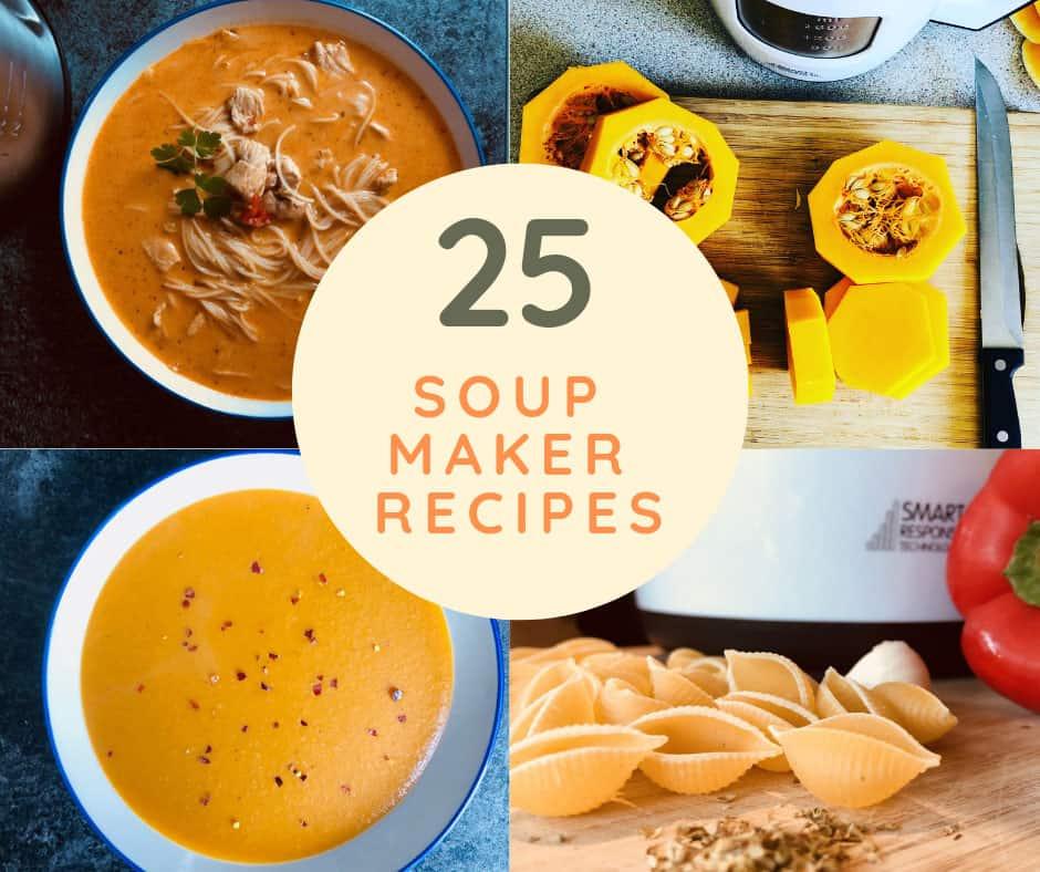 soup maker recipes for morphy richards