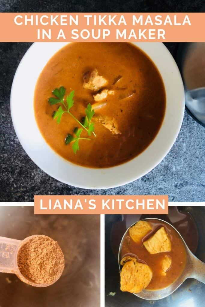 Chicken Tikka Masala Soup
