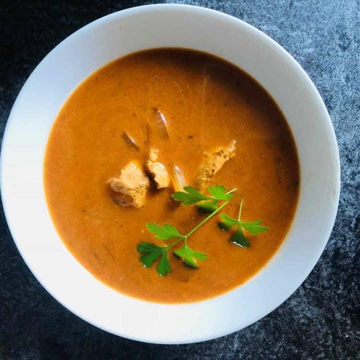 Chicken Tikka Masala Soup (In A Soup Maker)