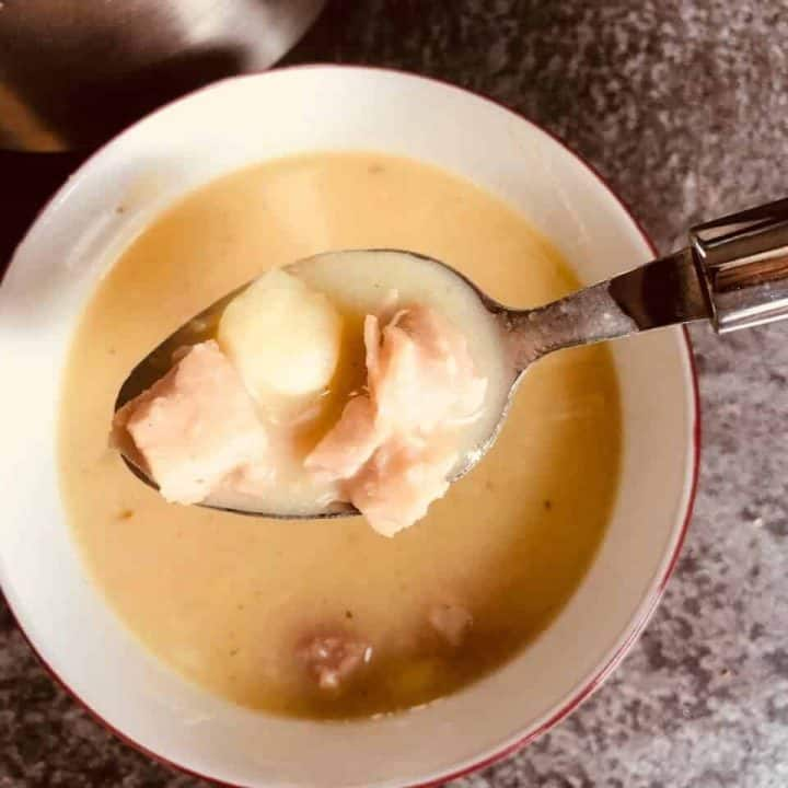 ham and potato soup maker recipe
