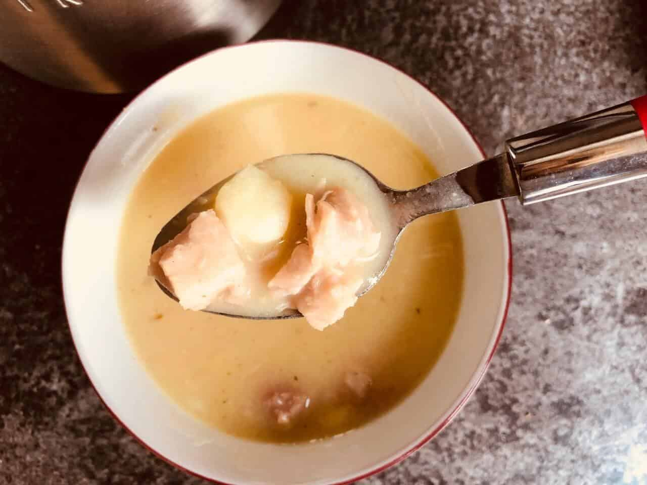 ham and potato soup maker recipe