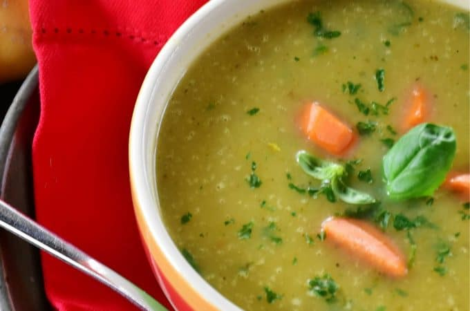 thickening soup