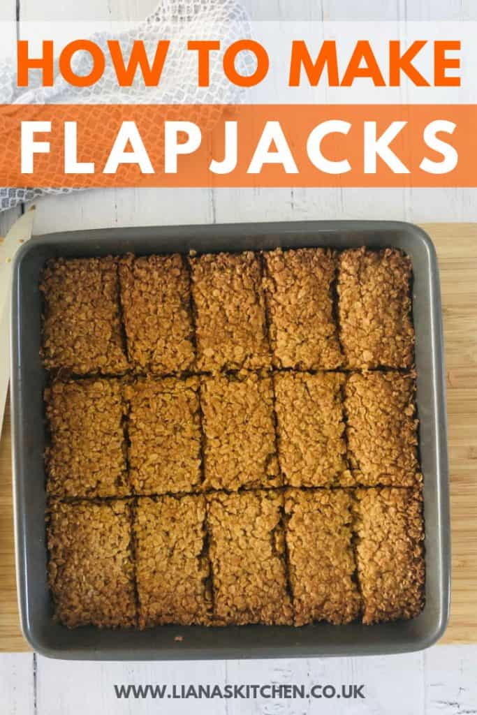 How to make flapjacks recipe