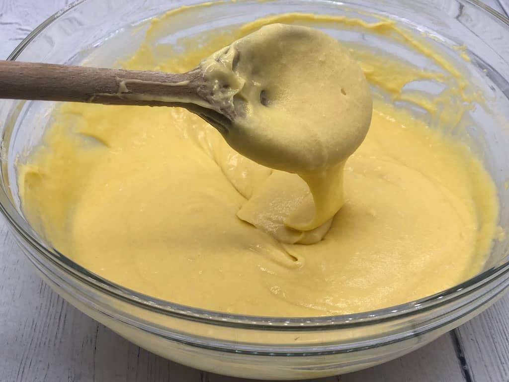 cupcake mixture