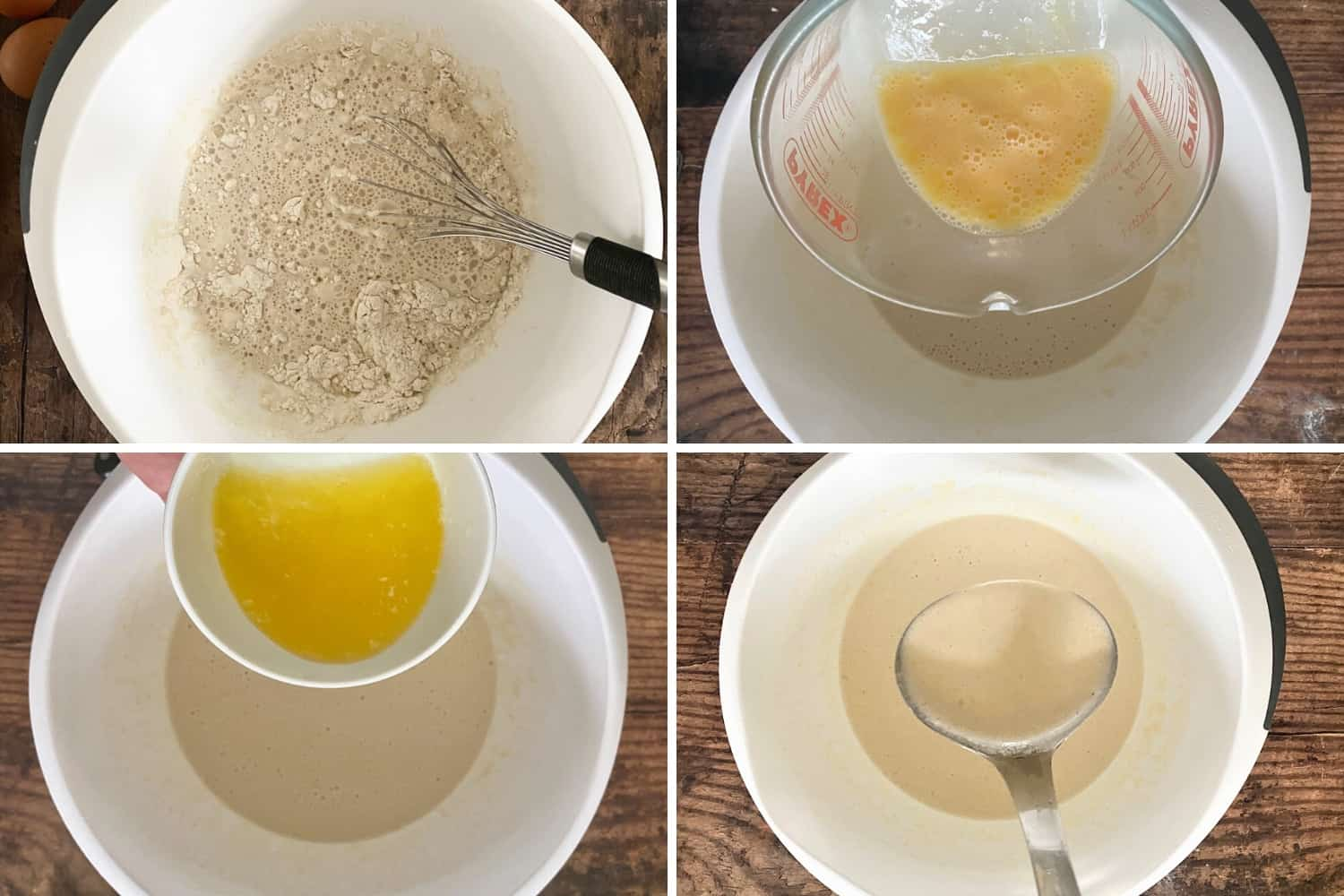 how to make pancakes step by step