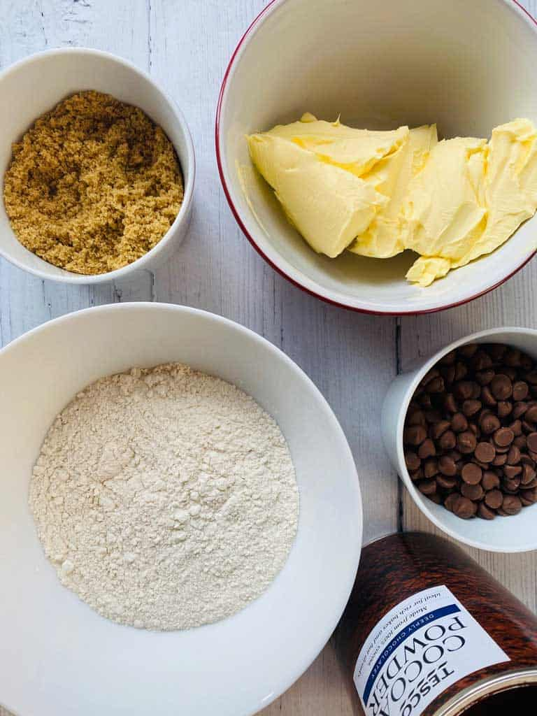 chocolate shortbread ingredients