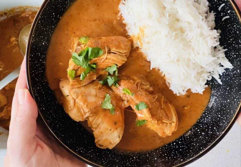 tikka masala curry in Ninja Foodi