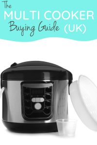 multi cooker with accessories