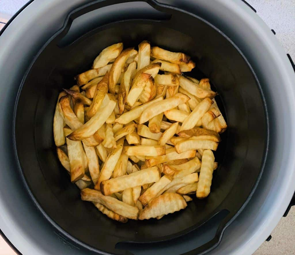 cooked air fryer chips