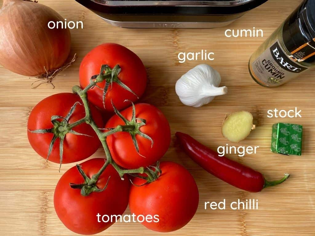 spicy tomato soup ingredients